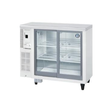 90公分滑門工作台展示冰箱