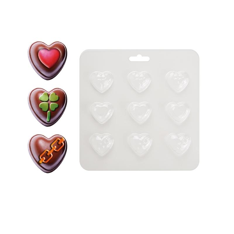 巧克力模(心型-永戀一世)(2入)