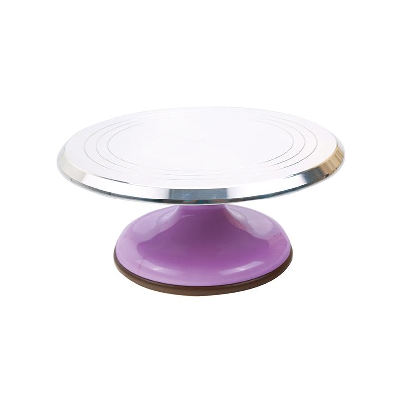 蛋糕轉台(粉紫)