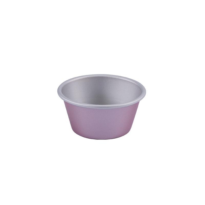 小蛋糕模-6入(陽極)(金屬玫瑰色)