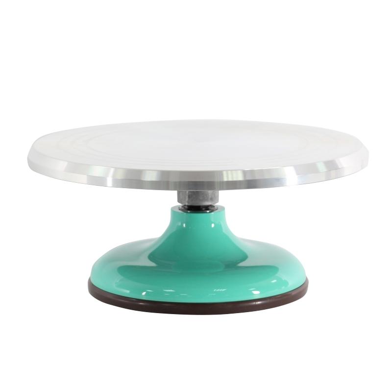 蛋糕轉台-寶石綠色