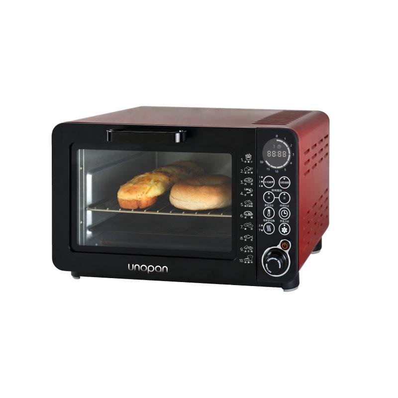 UNOPAN無油空氣油炸烤箱-14公升(紅色)