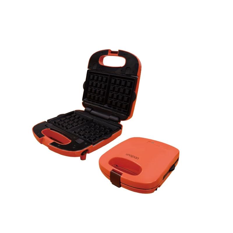 多功能鬆餅機-珊瑚橘色