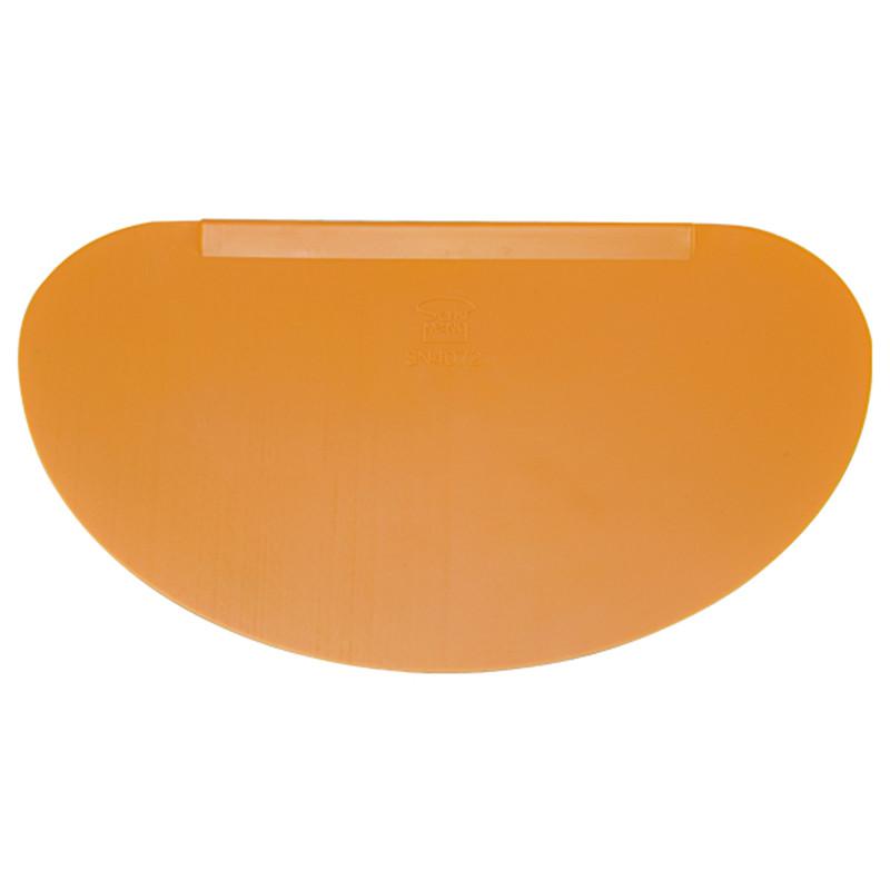 半圓型塑膠刮板
