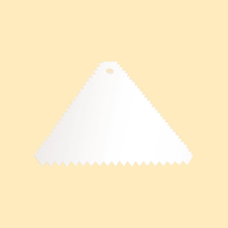 不銹鋼三角齒刮板(電解)