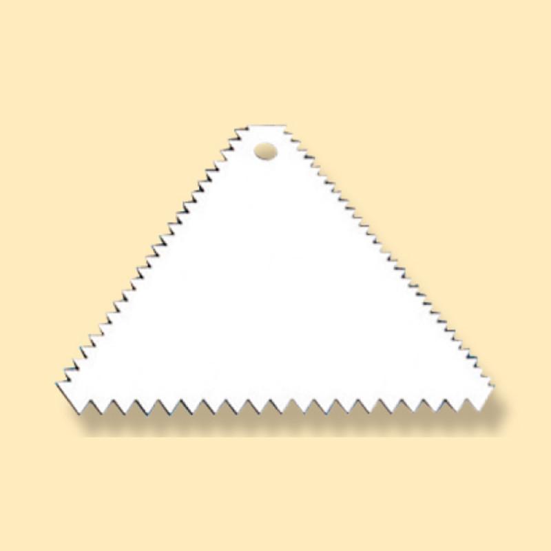 塑膠三角齒刮板