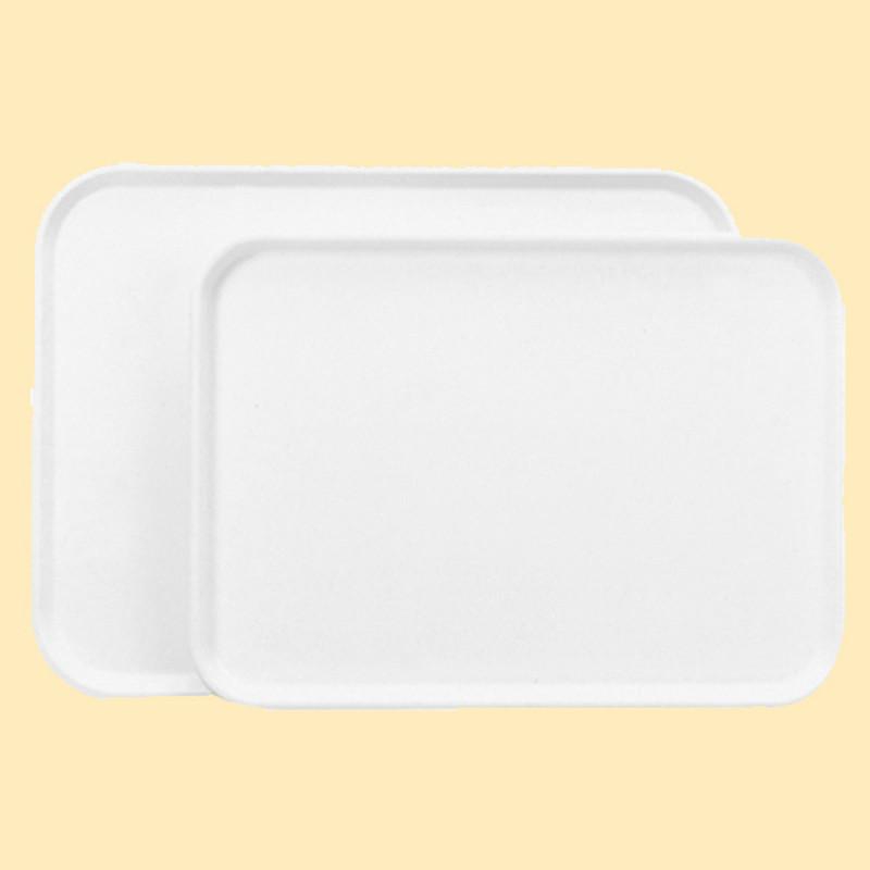 塑膠托盤(米白)
