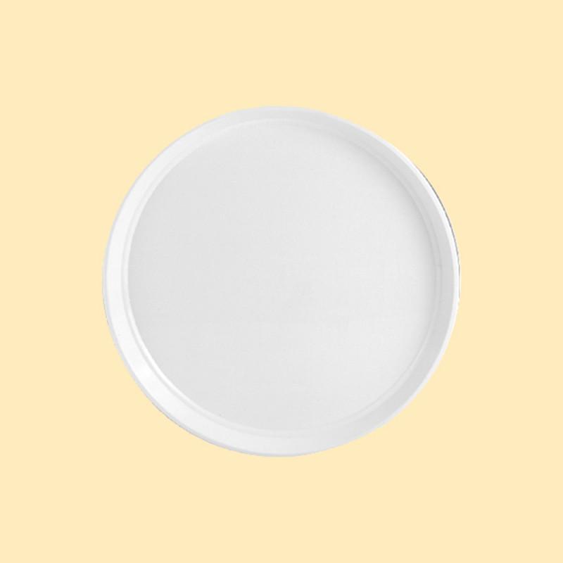 塑膠圓盤(米白)