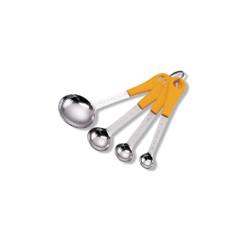 不銹鋼量匙(4個組)
