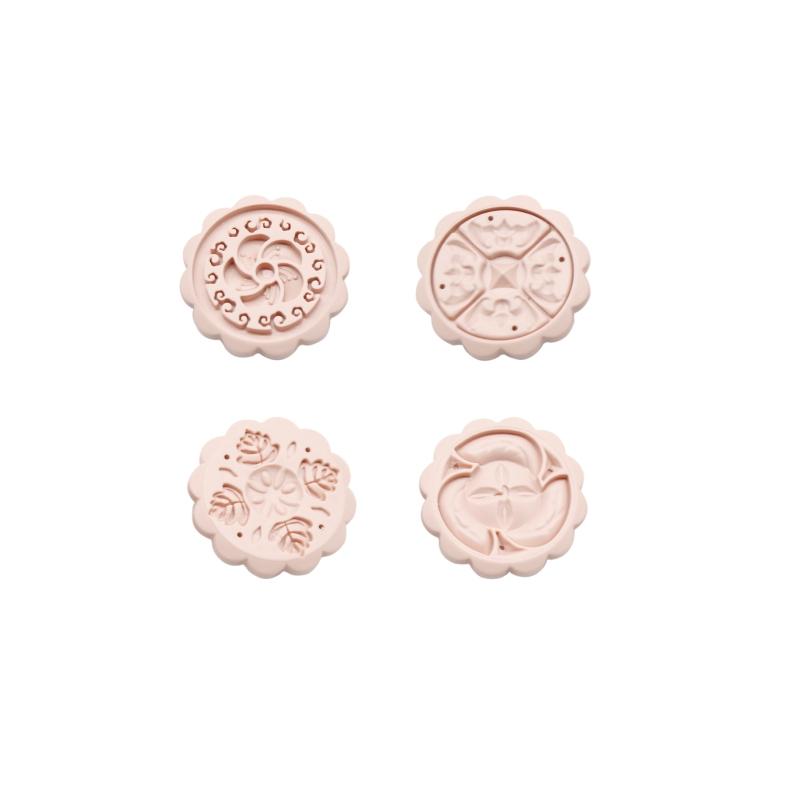 月餅模花片組-4個組