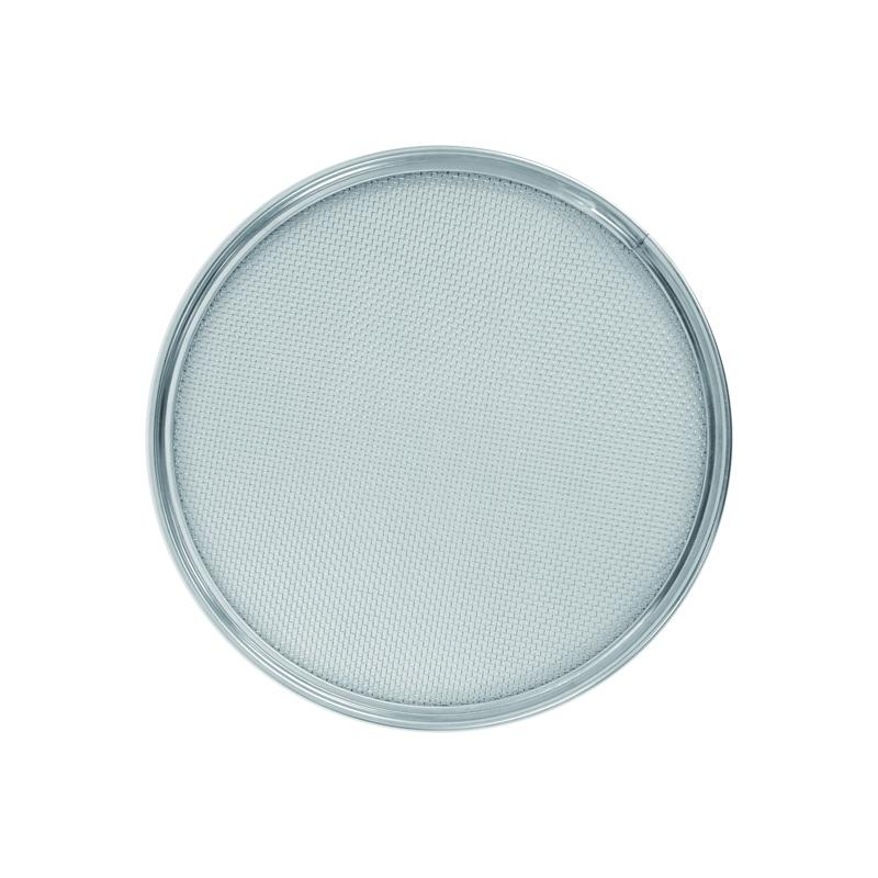 21cm不銹鋼扣環式粉篩-網 (12目)